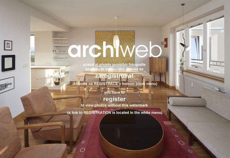 archiweb.cz - Rekonstrukce a interiér panelového bytu v Rožnově pod Radhoštěm