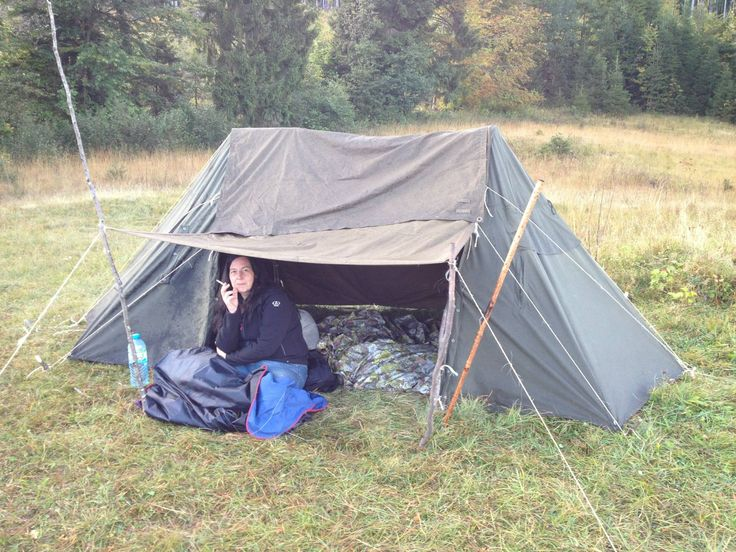 Bushcraft Girl's camp - made ready for winter - BackcountryForum.com