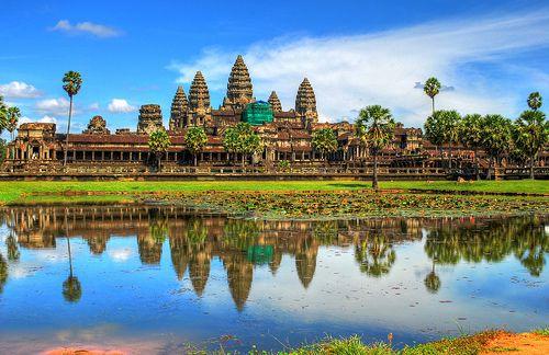 Rejser til Cambodia