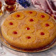 Old Fashioned Pineapple Upside Down Cake Image