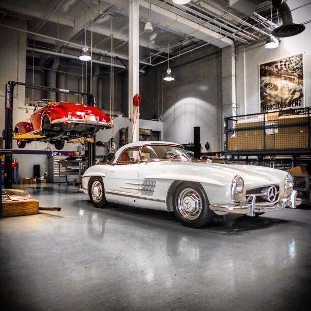 287 best dream garage images on pinterest dream garage for Mercedes garage 93