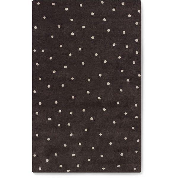 deco dot rug ❤ liked on Polyvore featuring home, rugs, whimsical rugs, polka dot rug, polka dot area rug, whimsical area rugs and dot rug