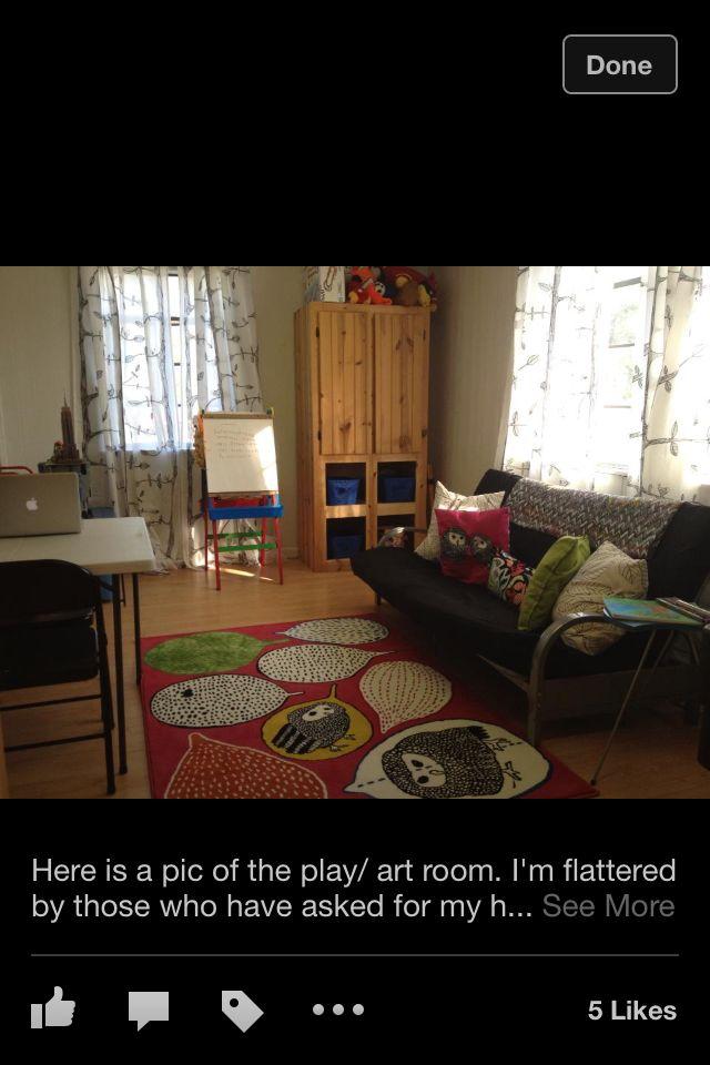 """The """" owl"""" Playroom."""