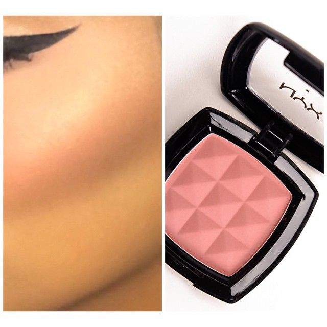 "NYX Blush in ""Dusty Rose"" - The perfect shade for almost every complexion"