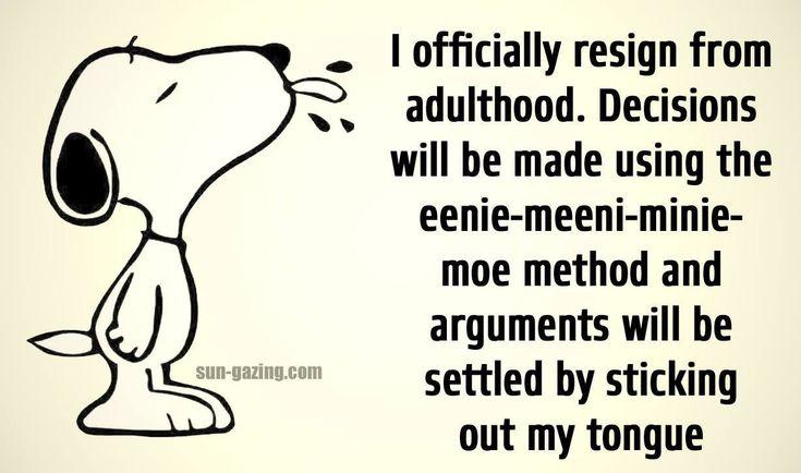 #Resigned