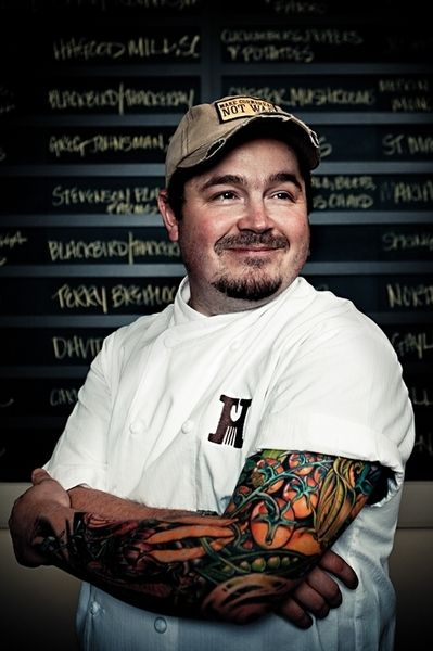 Chef with a food sleeve food tattoos pinterest for Charleston tattoo artists