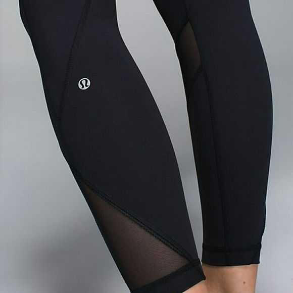 Inspire Tight ii Lululemon Brand new  with tag black with grey design the 3rd picture lululemon athletica Pants
