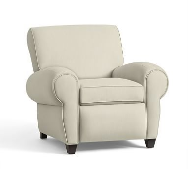 Manhattan Upholstered Recliner Polyester Wrapped Cushions Premium Performance Basketweave Ivory  sc 1 st  Pinterest & 117 best *Chairs u0026 Ottomans u003e Recliners* images on Pinterest ... islam-shia.org