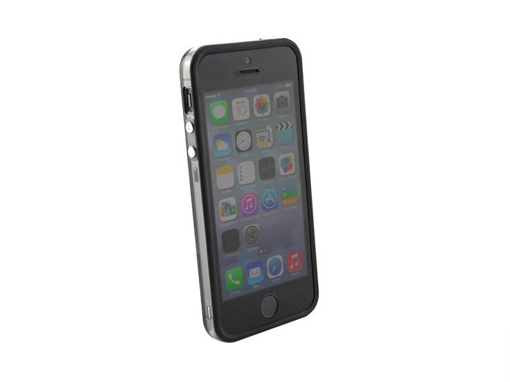 Bumper iPhone 5/5S transparant Zwart