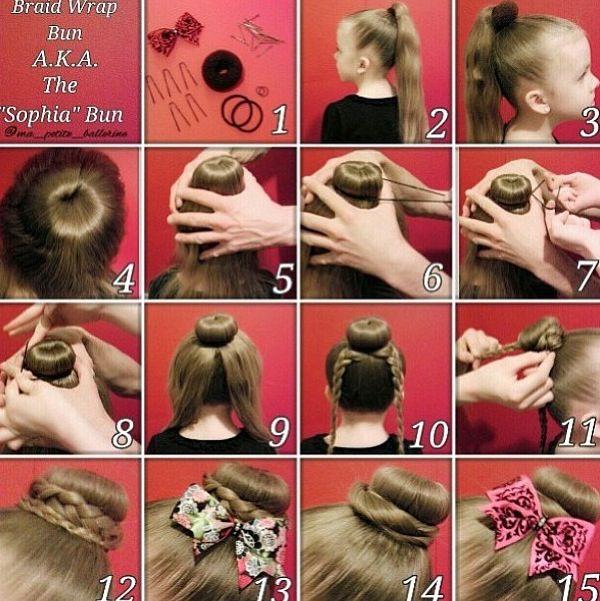 sophia Lucia's bun love hair donutssss!!!