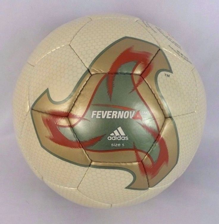 Adidas Fevernova Korea & Japan World Cup Official Match Soccer Ball Teamgeist #adidas