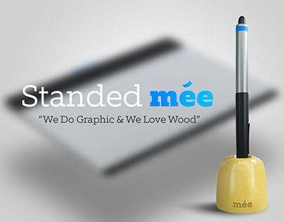"""Check out new work on my @Behance portfolio: """"Standed Mee Wacom Pen Tablet Holder (Concept)"""" http://be.net/gallery/35433023/Standed-Mee-Wacom-Pen-Tablet-Holder-(Concept)"""