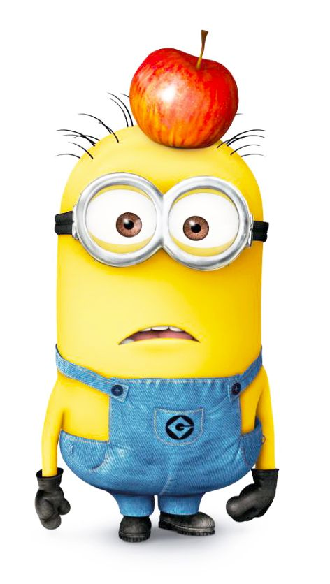 Despicable Me - Tom is a two-eyed minion with short buzz-cut hair. Tom also notes that Silas Ramsbottom has a name sounding like butt in the end, which leads Tom and Stuart to burst into laughter.