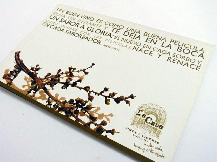 LA CAVA  Realizamos la reactivación del logotipo de esta empresa de Cali, Colombia. Además diseñamos un catálogo para su amplio portafolio de productos.