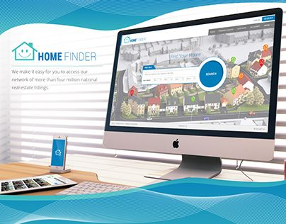 """Check out new work on my @Behance portfolio: """"Home Finder"""" http://be.net/gallery/55153885/Home-Finder"""
