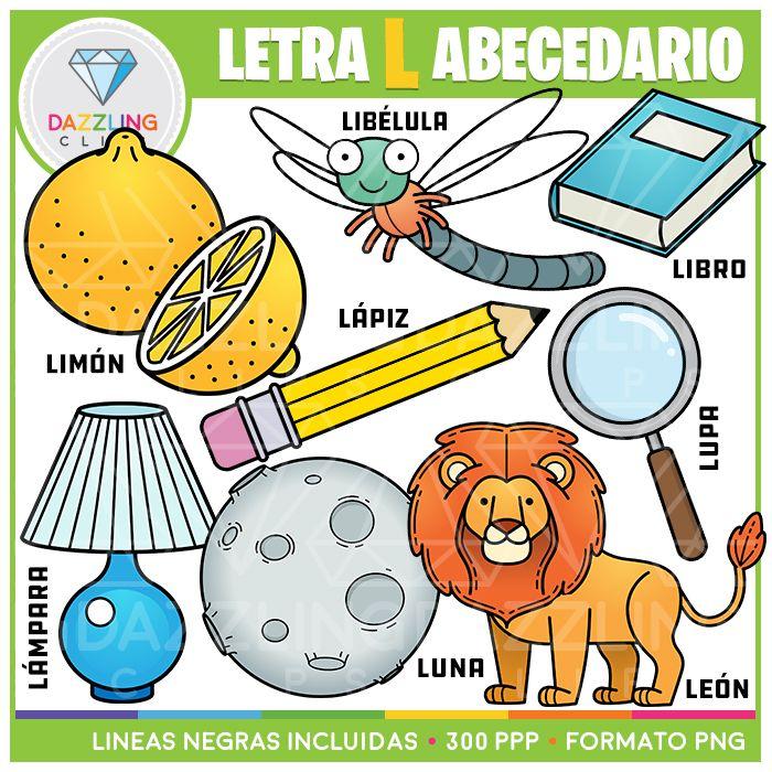 Letra L Abecedario Spanish Lettering Alphabet Spanish Alphabet Letters Letter L
