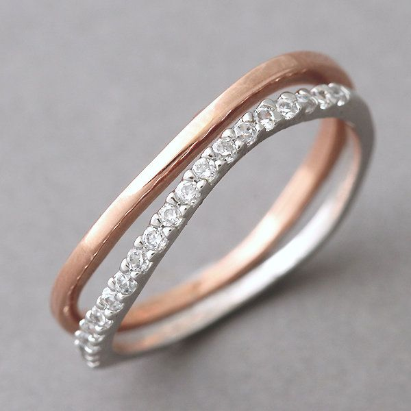 Want to find a rose gold ring like this. So dainty and non flashy . Looks earthy and vintage
