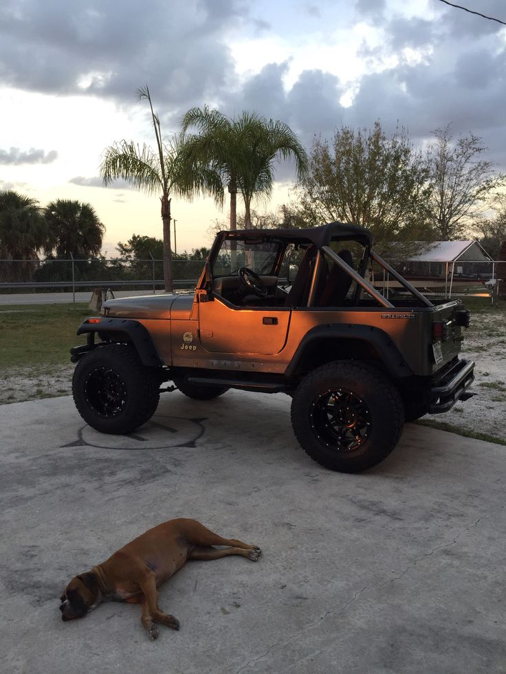 1989 Jeep Wrangler Yj With 18 Quot Fuel Hostage Wheels 35