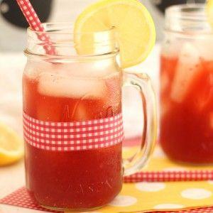 Raspberry Lemonade Iced Tea – Carmel Moments