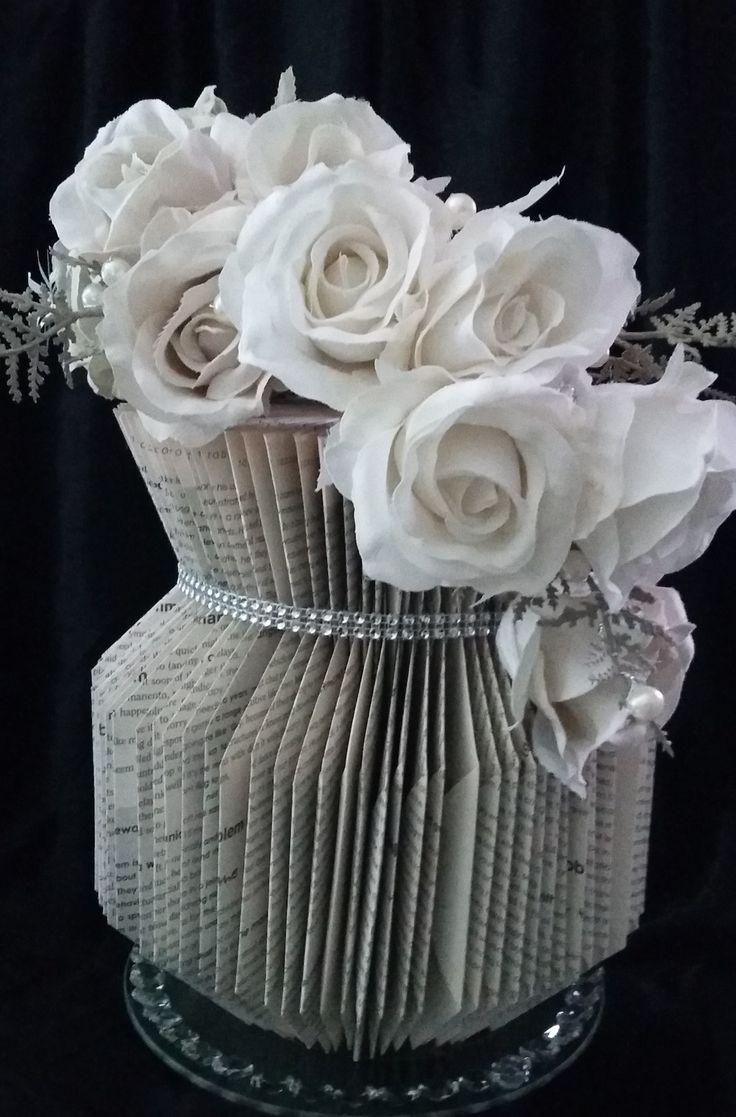 book folding - Part 2 - Vase 2