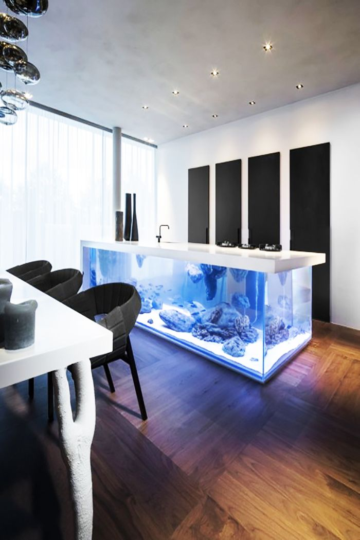 Amsterdam based design firm kolenik eco chic design have released designs of their unique ocean kitchen