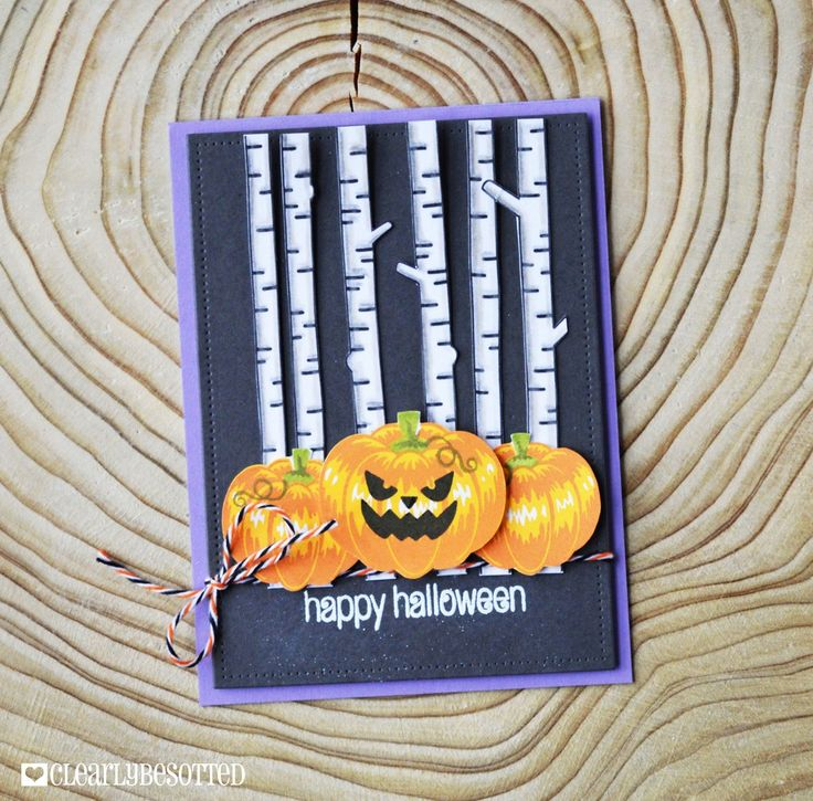 Happy Halloween | Clearly Besotted Stamps
