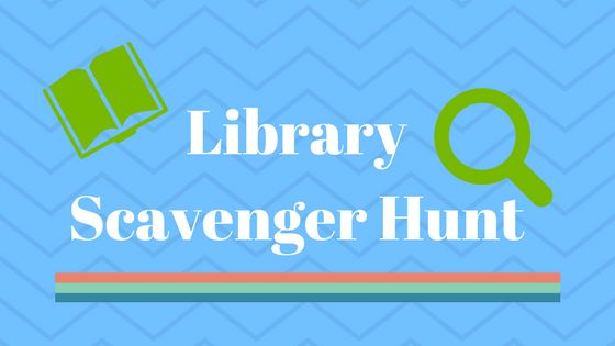Library Scavenger Hunt: An Outing for the Kids