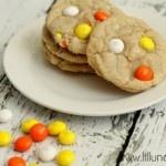 White Chocolate Candy Corn M Cookies
