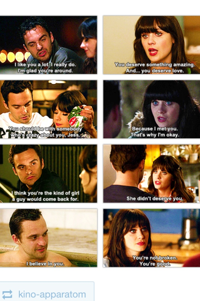 Nick and Jess moments :) By far my favorite couple