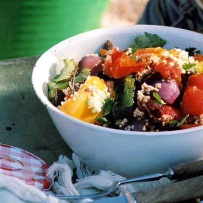Roasted Vegetable Salad recipe. For the full recipe, click the picture or visit RedOnline.co.uk
