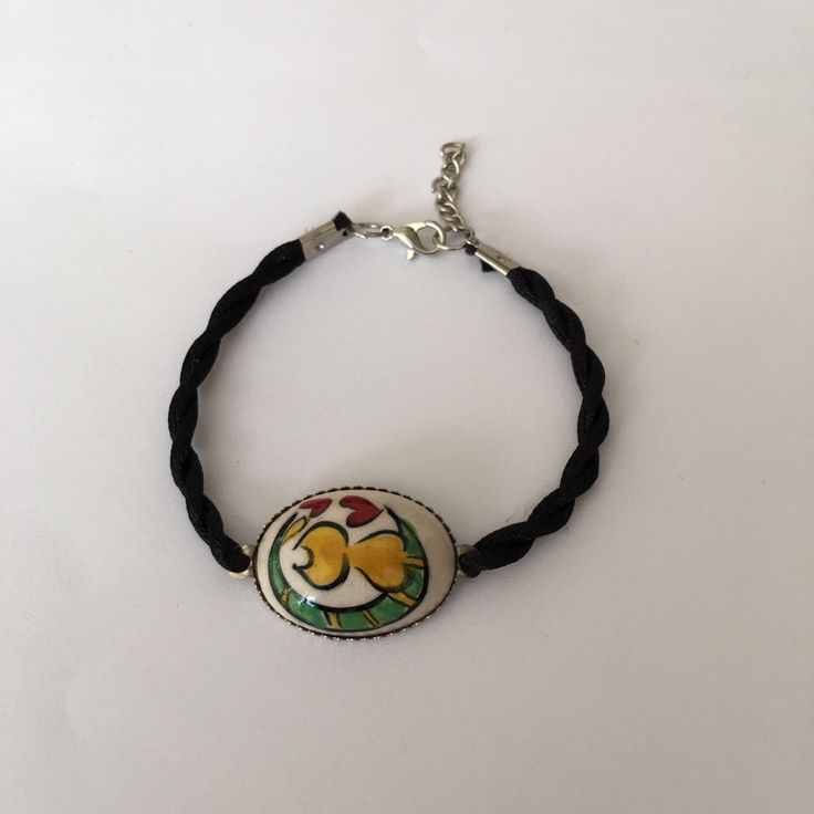 A personal favourite from my Etsy shop https://www.etsy.com/listing/267600264/catlover-ceramic-bracelet