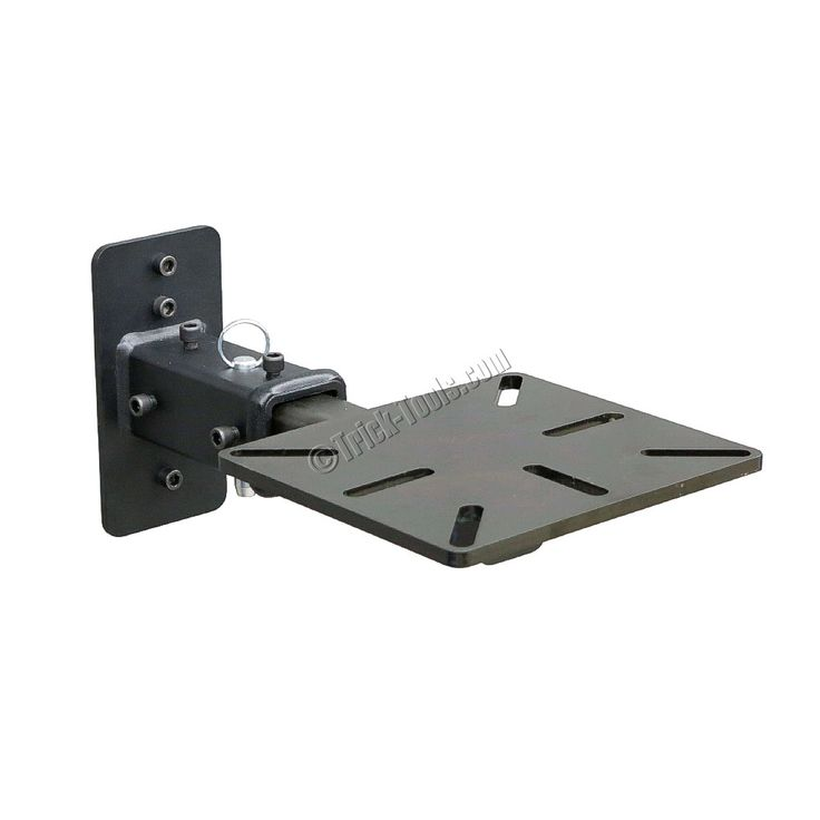 Receiver Style Wall Mount For Bench Vises And Grinders In