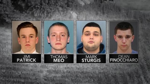 A body found in a mass grave is identified as one of the four missing Pennsylvania men.