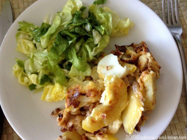 Cartofi Frantuzesti cu Sunca si Cascaval