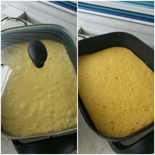 Corn Bread Can Be Baked In An Electric Skillet!