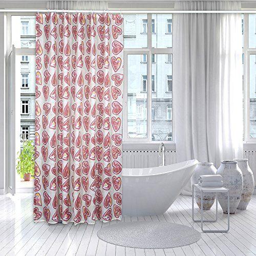 Duschvorhang Lang Herz Gedruckt für Badezimmer Shower Cur... https://www.amazon.de/dp/B06X19M2F8/ref=cm_sw_r_pi_dp_x_4ptPybTJQ77TY