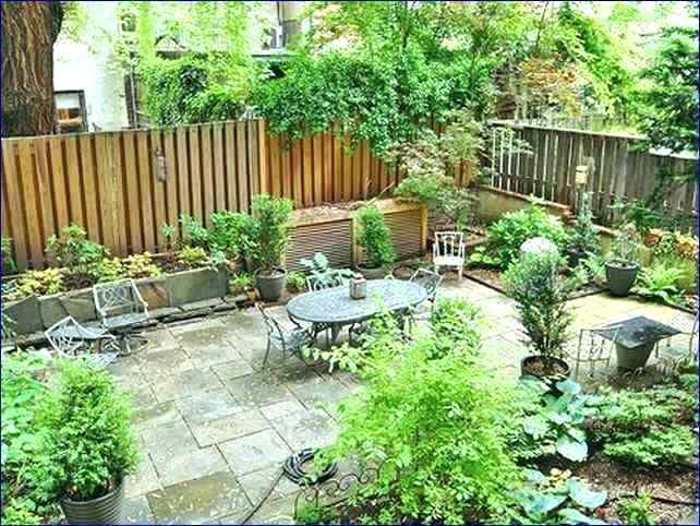 front yard landscaping ideas no grass backyard without ...