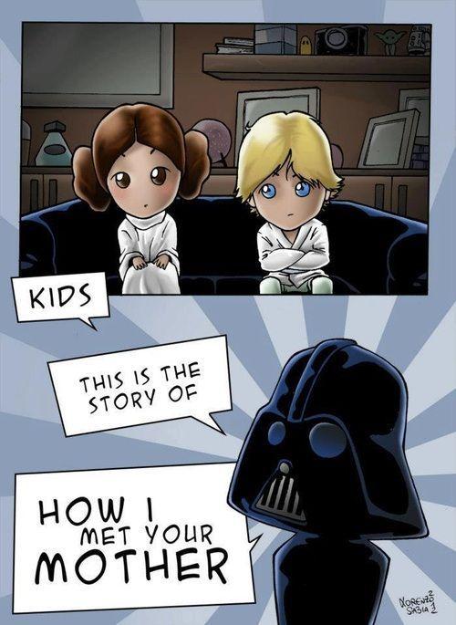 How I Met Your Mother - Star Wars Version