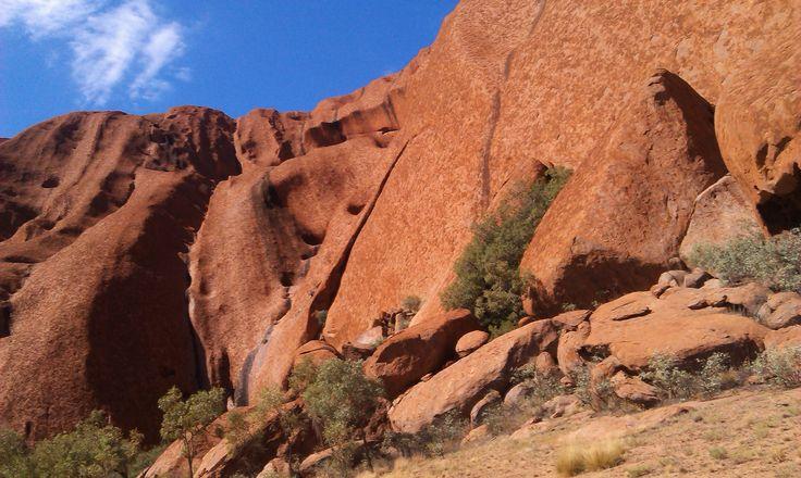 #Uluru #ayers rock #NT #northern Territory #tourism #australia #monolith #travel