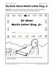 My Book About Martin Luther King, Jr.