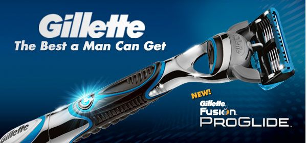 Get A Free Gillette Razor Of Choice!
