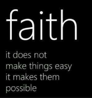 Faith versus fear.  http://carolynhughesthehurthealer.wordpress.com/: Luke 1 37, Things Easy, Inspiration, Quotes, Truths, So True, Living, Luke137, Have Faith