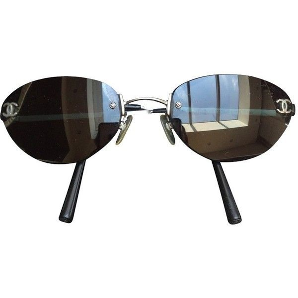 Pre-owned Sunglasses ($175) ❤ liked on Polyvore featuring accessories, eyewear, sunglasses, black, chanel eyewear, chanel, chanel glasses and chanel sunglasses - Sale! Up to 75% OFF! Shop at Stylizio for women's and men's designer handbags, luxury sunglasses, watches, jewelry, purses, wallets, clothes, underwear & more!