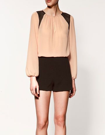 This would look divine with a simple pencil skirt and killer heels