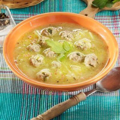 Supă de gulii cu perișoare