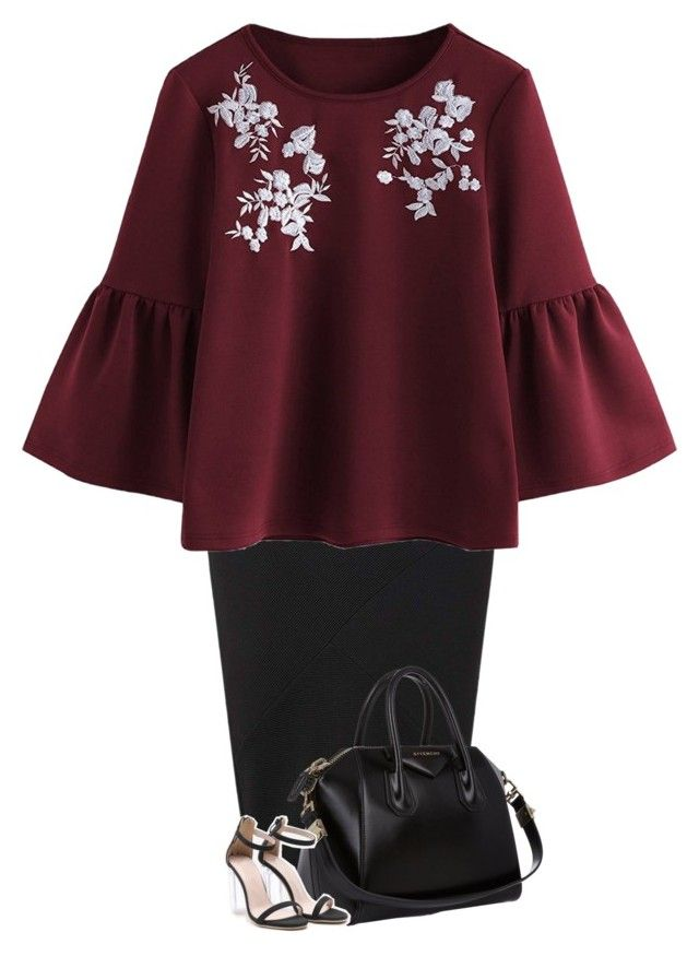 """""""Untitled #125"""" by miagracerobinson on Polyvore featuring Miss Selfridge and Givenchy"""