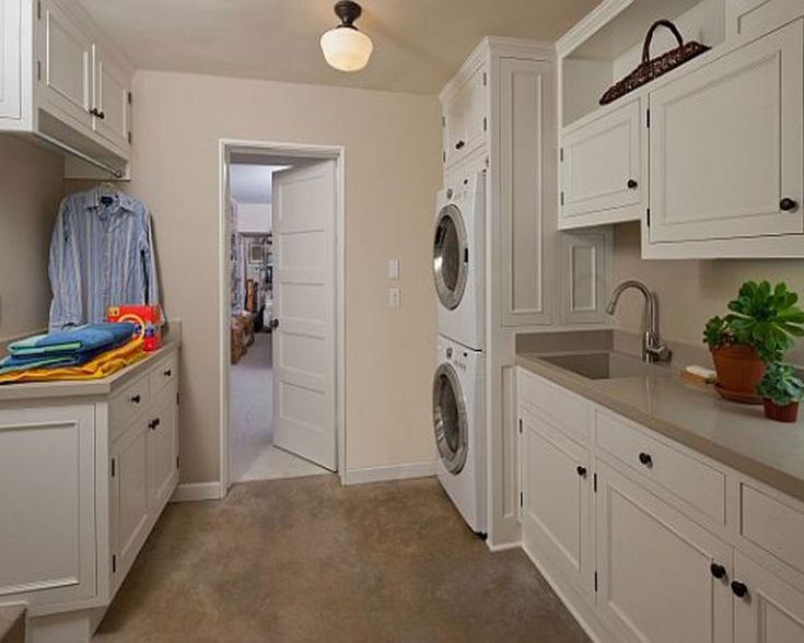Laundry Room Laundry Stacking Washer Dryer Rod Design, Pictures, Remodel,  Decor And Ideas