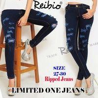 Jual jeans women sobek, Reibio jeans dengan harga Rp 135.000 dari toko online limited one, Jakarta. Cari produk celana jeans lainnya di Tokopedia. Jual beli online aman dan nyaman hanya di Tokopedia.