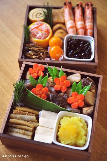 Japanese Osechi for the New Year おせち料理
