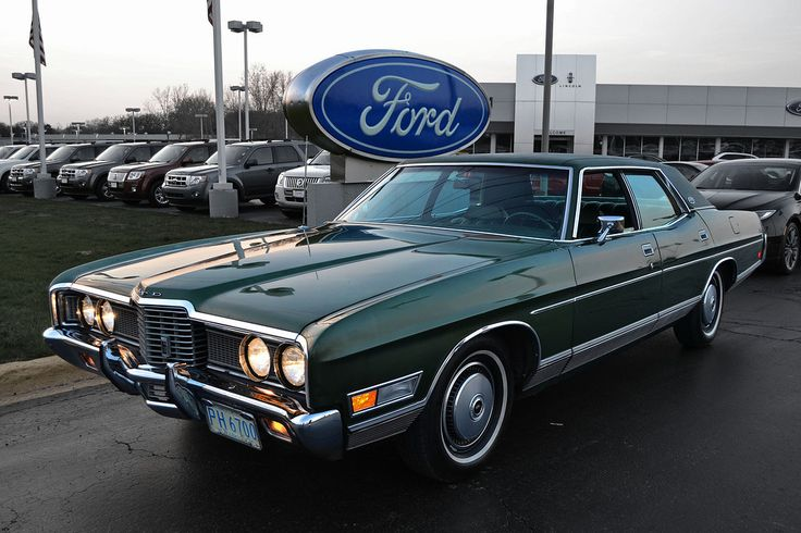 1972 Ford LTD Brougham Four Door Hardtop